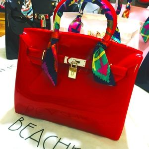 6ad50c74f5d1 Handbags - •••jelly bag new waterproof handbag••••
